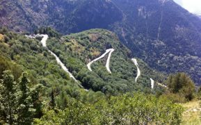 Cycle Alpe d-Huez Bends