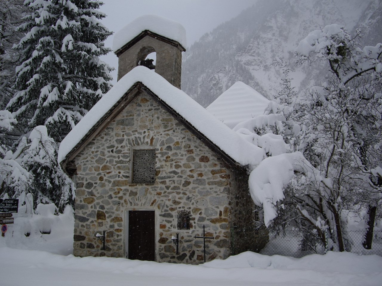 Chapel in La Danchere