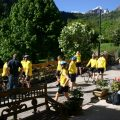 Cycling from Lauvitel Lodge