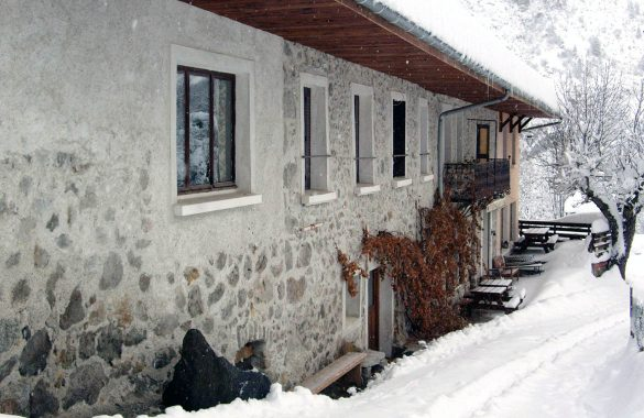Chalet Dauphiné in Winter