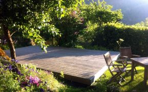 The Deck at Lauvitel Lodge